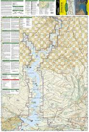 Red River Gorge Map Flaming Gorge National Recreation Area National Geographic Trails