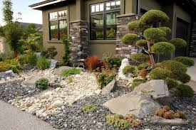 build dry creek bed landscaping drainage home design ideas