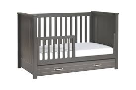 White Convertible Crib With Drawer by Asher 3 In 1 Convertible Crib With Toddler Bed Conversion Kit