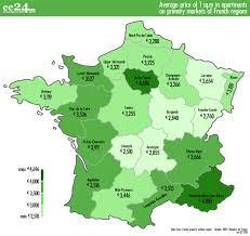 Champagne France Map by Properties In France Prices In Paris Marseille And The Cote D