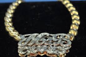 name plates jewelry we make custom name plates p s jewelry