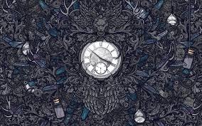 abstract clocks abstract artwork clocks crystals detailed time travel walldevil