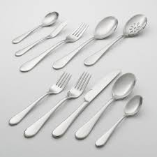 oneida kitchen knives icarus 45 pc flatware set