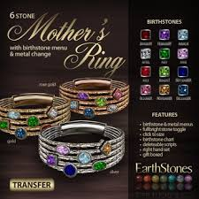 6 mothers ring second marketplace earthstones s ring 6