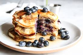 blueberry pancake easy homemade blueberry pancakes recipe how to make blueberry
