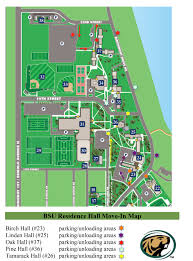 Midwest States And Capitals Map by Move In Map Housing U0026 Residential Life Bemidji State University