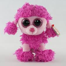 aliexpress buy pyoopeo ty beanie boos patsy pink poodle dog