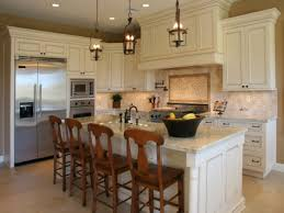 Kitchen Marble Top Kitchen Antique White Kitchen Cabinet Refacing With Light Brown
