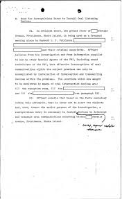 Narrative Resume Golocalprov Fbi Files The Patriarca Papers Entry 56 Quonset