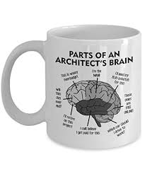 the architects brain mug 11oz parts of an architect s