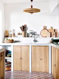 c kitchen ideas la maison bohème de la créatrice de sessun light wood cabinets