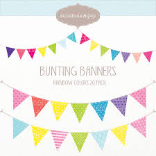 Pretty Bunting Flags Bunting Border Cliparts Free Download Clip Art Free Clip Art