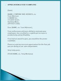 sample business letters ppt download