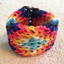 looms bracelet instructions images How to make a rainbow loom bracelet from an alpha friendship jpg