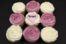 personalised rose design cupcakes box of 9 mothers day gifts