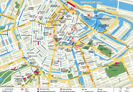 San Francisco Red Light District Map by Amsterdam Maps Top Tourist Attractions Free Printable City