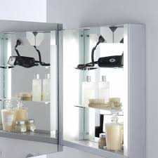 Bathroom Cabinet With Mirror And Lights Bathroom Mirror Cabinet With Lights And Shaver Socket In India