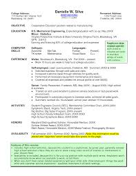 Resume Job Interview Example by Virginia Tech Resume Samples Resume For Your Job Application