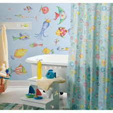 Seashell Bathroom Decor Ideas by Magnificent 10 Tropical Fish Bathroom Theme Design Ideas Of