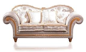 Sofa Fabric Stores Classic Sofa Fabric 2 Seater Brown Excelsior Vimercati