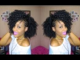 crochet hair mohawk pattern inspired braided side mohawk natural hair youtube