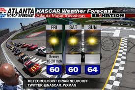 atlanta motor speedway lights 2017 atlanta nascar weekend weather perfect race weather guarantee is