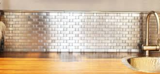 aluminum kitchen backsplash articles