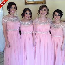 aliexpress com buy pink lavender mint bridesmaid dresses new