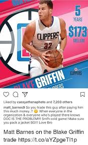 Blake Griffin Memes - years clppere s173 million 32 clippers griffin liked by