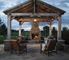 Rustic Gazebo Ideas by Baroque Toilet Seat Riser In Patio Other Metro With Belgard Lafitt