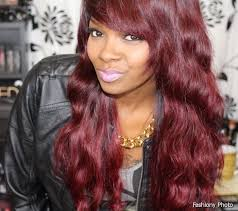 brown cherry hair color dark cherry hair color ideas for dark skin hairstylegalleries of