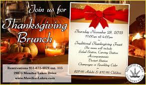 menifee lakes country club hosts thanksgiving feast menifee 24 7