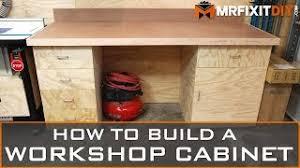kitchen cabinets workshop how to build a workshop cabinet free downloadable plans