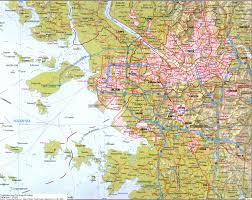 Korean Subway Map by Korea Map Seoul Korean Maps Subway Cities Provinces Kyongsang