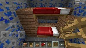 Minecraft Bunk Bed  Steps With Pictures - Minecraft bunk bed