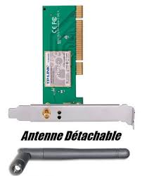 carte wifi pci 54 mbps pour ordinateur de bureau carte wifi