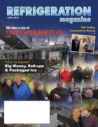 refrigeration magazine april 2015 by markurious marketing group