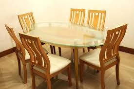 6 seater oak dining table 6 seater dining table blogdelfreelance com
