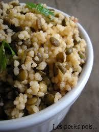 cuisine lentilles vertes recette taboulé de lentilles vertes femininbio