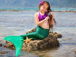 ariel green scale mermaid tail mermaid tails kids teens