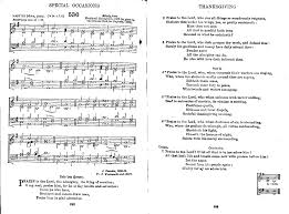 thanksgiving hymns great english and american hymns sheet music