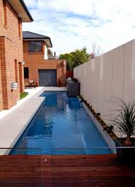 Modern Lap Pool Design Ideas By Out From The Blue - Backyard lap pool designs