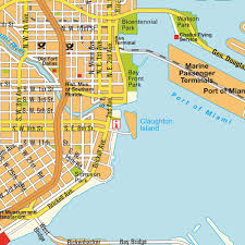 Miami Beach Bus Map Image Gallery Mapa Miami