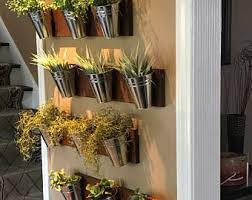 Indoor Wall Planter Wall Planter Etsy