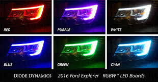 turn off interior lights ford explorer 2016 2016 2017 ford explorer multicolor led boards led lighting