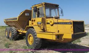 volvo haul trucks for sale volvo a20 articulated haul truck item i4386 sold august