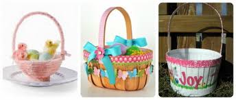 Kids Picnic Basket Personalized Handmade Toy Easter Gift Basket For Kids Family