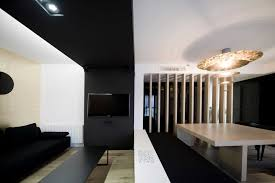 modern living room decor ideas decoration amazing contrast white and black modern interior
