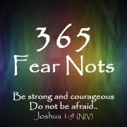 365 fear nots fearful to fearless book