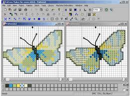 cross stitch pattern design software hobbyware pattern maker for cross stitch